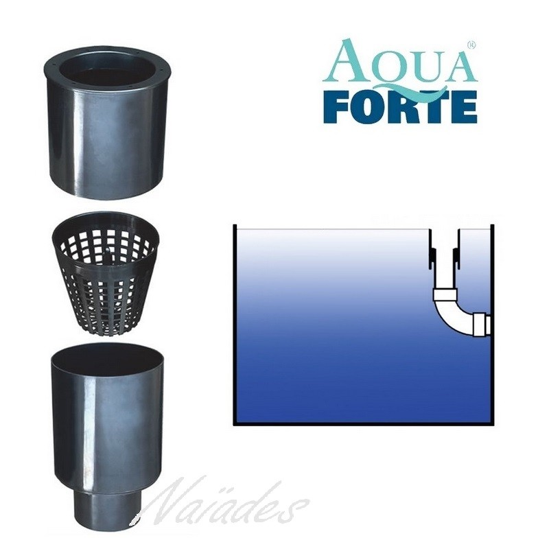 Aquaforte floating skimmer with basket for Pond filter basket