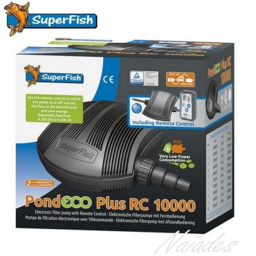 Pompe PondEco Plus RC 10000 SuperFish