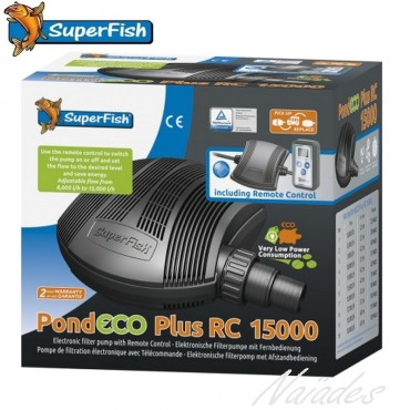 Pompe PondEco Plus RC 15000 SuperFish