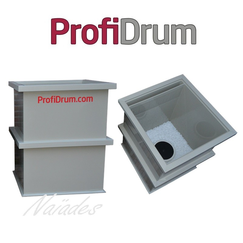 Biofilter 25 profidrum na ades for Biological filter box